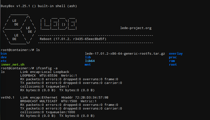 lede-on-linux-server